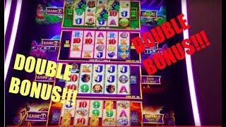 CHECK OUT THIS DOUBLE BONUS ON THE NEW WONDER 4 TOWER • GOLD BONANZA SLOT MACHINE BIG WINS