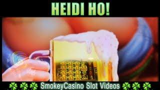 COLOSSAL BIER HAUS Slot Machine Bonus Win  - WMS