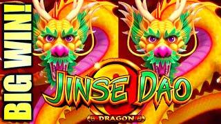 •FINALLY! GOT THE FREE GAMES! BIG WIN!• JINSE DAO DRAGON & PHOENIX Slot Machine (SG)