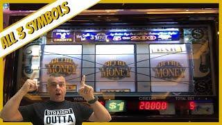 "⋆ Slots ⋆I Got 3 Symbols On ""In The Money"" Slot Machine At Hardrock Tampa⋆ Slots ⋆"