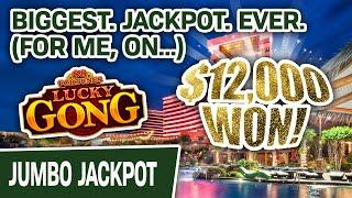 ⋆ Slots ⋆ Biggest. Jackpot. EVER for Me Playing 88 Fortunes: Lucky Gong! ⋆ Slots ⋆ Multiple Wins = $12,000!