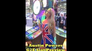 G2E 2014 - Austin Powers Slot Machine Preview!