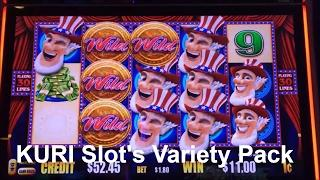 •KURI Slot's Variety Pack•ALL FIRST ATTEMPT •4 of Slot machine bonus & 3 of Big Line Hits• 栗スロット