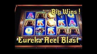 Eureka Reel Blast, Zeus Unleashed • Big Wins •