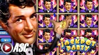 •JACKPOT PARTY CASINO FRIDAY! • DEAN MARTIN'S VIP PARTY • SLOT GAME APP REVIEW