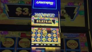 HUGE! Lightning Link Slot Machine MAX BET $25 Bonus $4000+ & Major Jackpot HOLD & SPIN BIG WIN