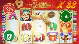 • Lucky 88 95% Payback slot machine, Big Win