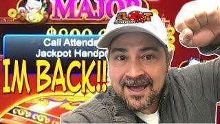 • HANDPAY, HANDPAY!? • Playing Dancing Drums MAX BET  Buffalo GOLD Wonder 4 Jackpots!• Slot Traveler