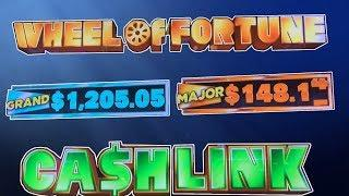 Wheel Of Fortune: Cash Link - IGT - How to Play!  2 Hours!
