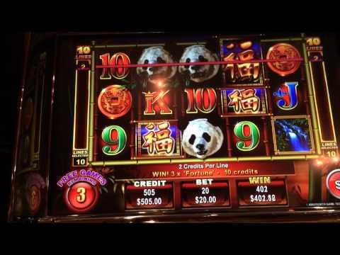 Panda King high limit slots big bonus win $20 bet