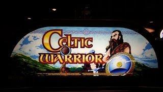*TBT* Aristocrat Celtic Warrior - 50 Free Games - **Nice Win**