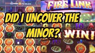 DID I UNCOVER THE MINOR OR DID IT GET AWAY? ULTIMATE FIRE LINK
