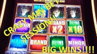 •AMAZING MIN BET SESSION• The Walking Dead 2 Slot Machine Big Wins and Bonus!!!