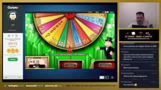 £250.00 VS Slots • Live Stream ( PART TWO ) COME BACK ! MONOPOLY WHEEL SPIN
