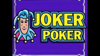 Joker Poker Progressive Video Poker Machine