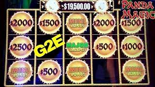 •G2E 2018• NEW 2018-2019 SLOT MACHINES PREVIEW | $500 Max Bet on High Limit DRAGON Cash Slto Machine
