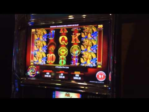 Multiple ReTriggers Ainsworth dragon HANDPAY JACKPOT high limit slot machine bo