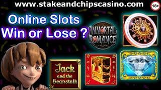 Online Slots Session - Win or Lose ?? • CASINO BONUS ROUNDS