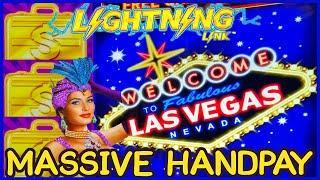 HIGH LIMIT Lightning Link High Stakes MASSIVE HANDPAY JACKPOT ⋆ Slots ⋆️$25 Bonus Round Slot Machine Casino