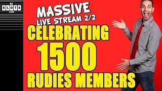 • 1500 SPINS for 1500 RUDIES • CELEBRATION Pt.2/2 • BCSlots