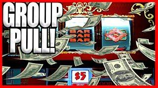 • HIGH LIMIT GROUP PULL •  MASSIVE SPIN INSANITY! • EZ Life Slot Jackpots