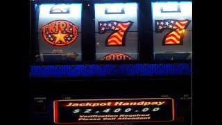 Triple Stars $2,400.00 Jackpot @Bellagio, Las Vegas (10-25-17)