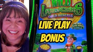 FIRST TIME PLAYING WILD LEPRECOINS GOLD RESERVE