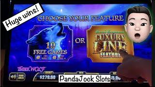 Another huge win using freeplay ⋆ Slots ⋆⋆ Slots ⋆ Cash Express, Luxury Line. TimberWolf and Pompeii