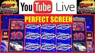 PERFECT SCREEN on Lightning Link HIGH STAKES! Sizzling Slot Jackpots Casino BONUS Machine Videos