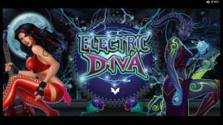 Electric Diva Slot - BIG WIN - Features & Game Play - by Microgaming
