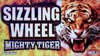 WINNING & WINNING & WINNING on SIZZLING WHEEL FLAMENCO DESIRES & MIGHTY TIGER SLOT POKIE BONUSES