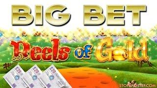 Rainbow Riches Reels of Gold BIG BET with FREE SPINS + BONUS SLOT