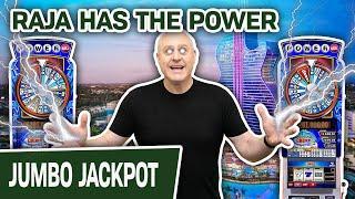 ⋆ Slots ⋆ POWERBALL = POWERFUL Jackpot ⋆ Slots ⋆⋆ Slots ⋆ RAJA HAS THE POWER at Hard Rock in Hollywood, Florida