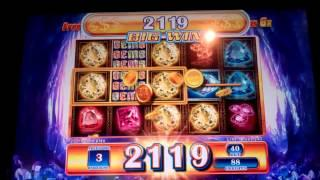 Gems Gems Gems Slot Machine Bonus - 10 Free Spins with 6x Multiplier - Big Win