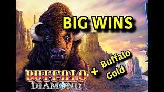 BUFFALO OVERLOAD: Buffalo Gold and Buffalo Diamond!