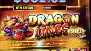 Dragon Lines •LIVE PLAY• Slot Machine Pokie at San Manuel, SoCal
