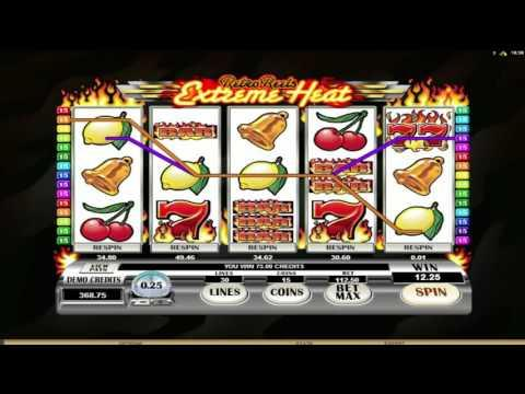 Free Retro Reels - Extreme Heat slot machine by Microgaming gameplay ★ SlotsUp