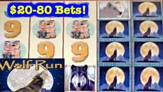 • HIGH LIMIT SLOTS • $20-$80 BETS • WOLF RUN • MYSTICAL MERMAID • LIVE PLAY •