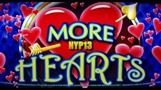 Aristocrat - More Hearts Slot Bonus WIN