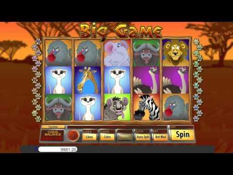 Free Big Game slot machine by Saucify gameplay ★ SlotsUp