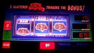 **BIG WIN**  Reel'em In - CATCH THE BIG ONE 2** slot machine bonus.