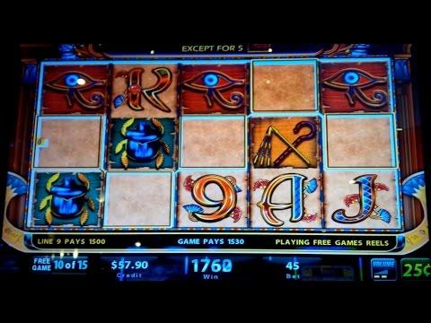 Cleopatra Slot Machine - $11.25 Max Bet - *MY BEST* Cleopatra Win Yet- Live Play and Bonus!