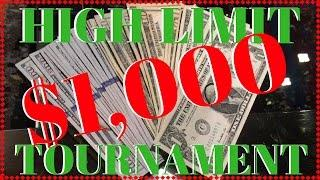 $1000 High Limit Group Play Tournament #HighLimit