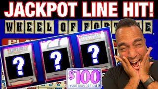 $100 Wheel of Fortune JACKPOT HANDPAY!! ⋆ Slots ⋆ Cash Machine & Lightning Link!! ⋆ Slots ⋆ ⋆ Slots