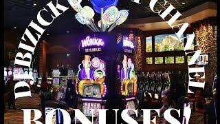 *~ OOMPA LOOMPA BONUS & GRANDPA SPINS ~* Willy Wonka Slot Machine ~ NICE WINS! • DJ BIZICK'S SLOT CH