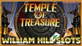 •️LIGHTNING LEOPARD & TEMPLE OF TREASURE • in William Hill  !