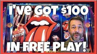 $100 in FREE PLAY • 5 DIFFERENT SLOTS • HOW MUCH $$ CAN I MAKE?