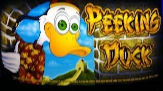 Peeking Duck Slot Machine - Live Play & Bonus