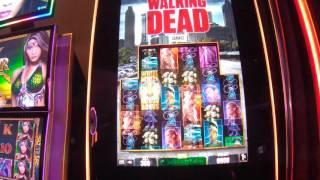 The Walking Dead slot machine MAX BET LIVE PLAY with Features