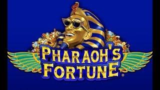 23 free spins and 5 x multiplier, big win or big fail on Pharaoh's Fortune Deluxe at £5 a spin